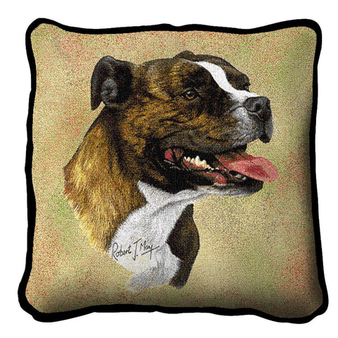Staffordshire Bull Terrier Pillow