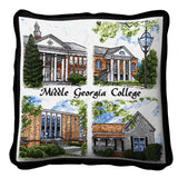 Middle Georgia College Cochran Campus Pillow