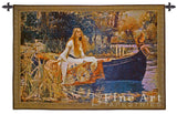 The Lady of Shalott Small Wall Tapestry