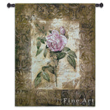 Blossoming Elegance I Small Wall Tapestry