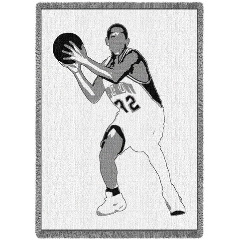 Basketball Silhouette Blanket