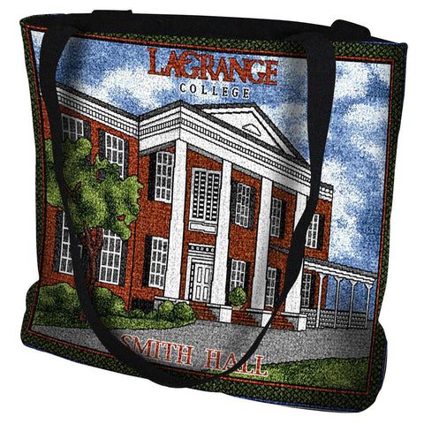 LaGrange College Smith Hall Tote Bag