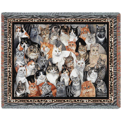 Purrfect Cats Blanket