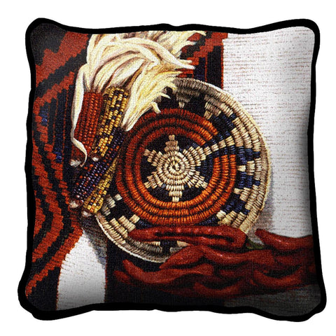 Indian Market Pillow