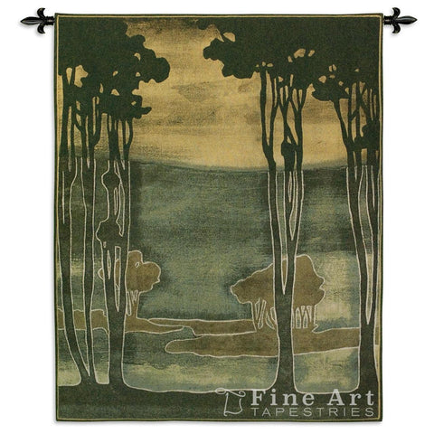 Nouveau Trees I Wall Tapestry