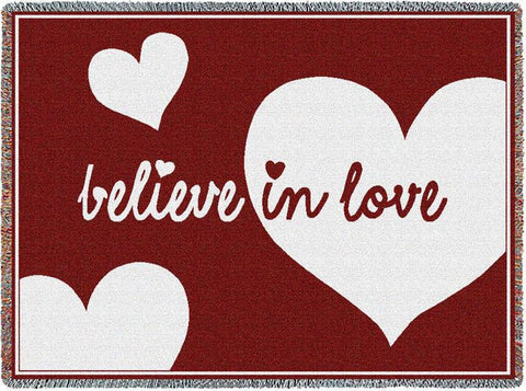 Believe In Love Blanket