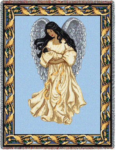 Guardian Angel and Baby 2 Blanket