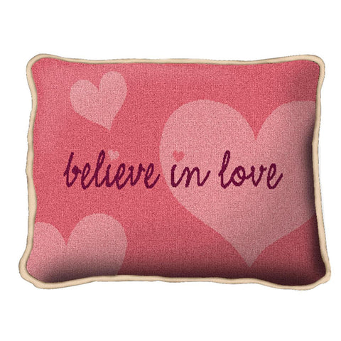 Believe In Love Pillow