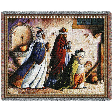 Three Kings Tapestry Blanket