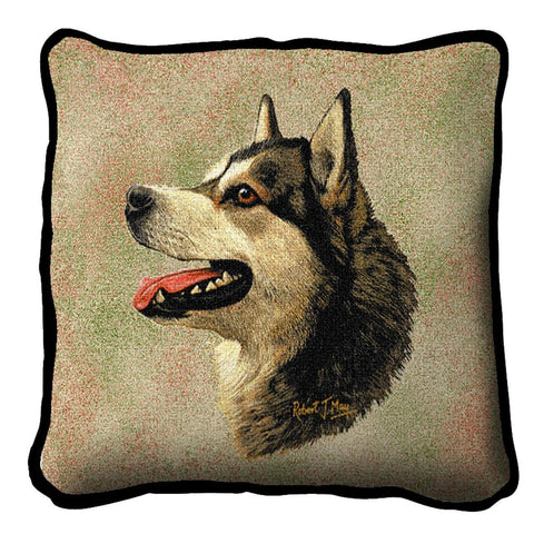 Alaskan Malamute Pillow Cover