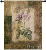 Blossoming Elegance II Small Wall Tapestry