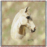 Welsh Pony Headshot Small Blanket