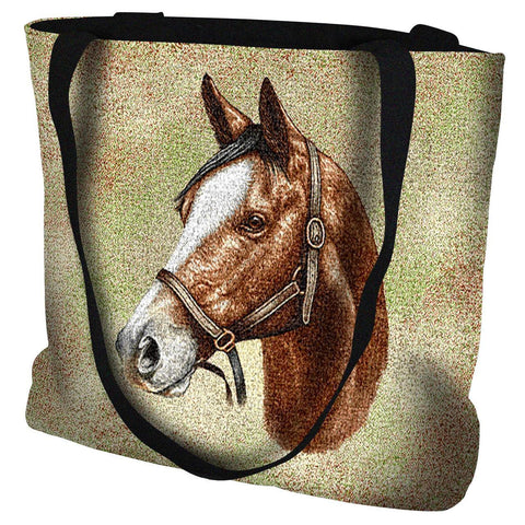 Thoroughbred Light Brown Tote Bag