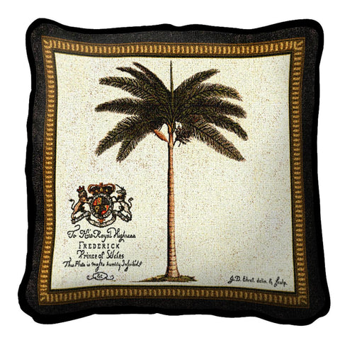 Royal Palm Fred (C) Pillow
