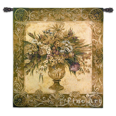 Tuscan Urn Wall Tapestry
