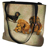 Dachshund Puppies Tote Bag