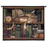 Remington Well Read Wall Tapestry With Rod
