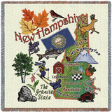 New Hampshire State Small Blanket