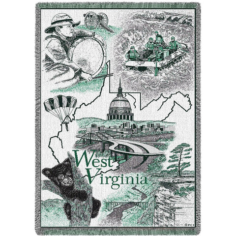 West Virginia Blanket