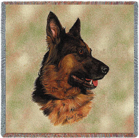 German Shepherd Small Blanket