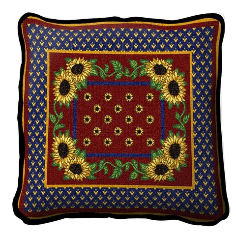 Sunflowers Splendor Pillow