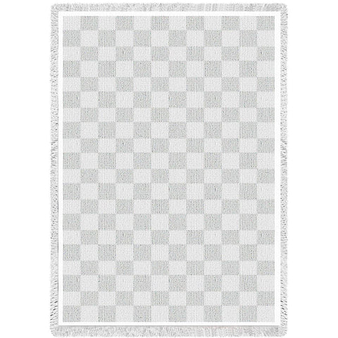 Classic White Natural Small Blanket