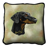 Doberman Pinscher 2 Pillow