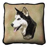 Siberian Husky Pillow Cover
