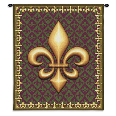 New Orleans Wall Tapestry With Rod