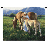 Beautiful Blondes Wall Tapestry With Rod