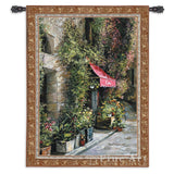 St Moritz Cafe Small Wall Tapestry