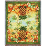 Pineapples and Fruit Blanket