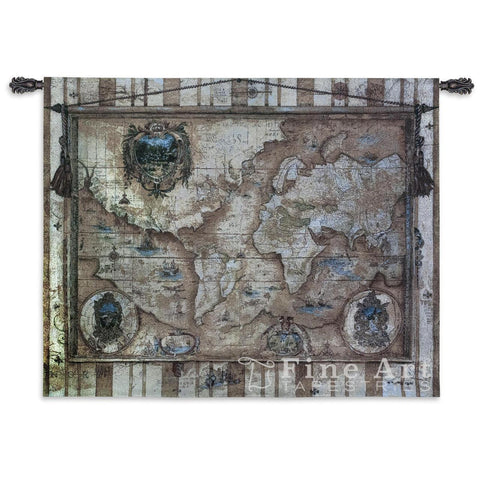 Souvenirs Des Voyage Wall Tapestry