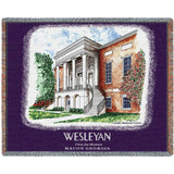 Wesleyan College Alumni Center Stadium Blanket