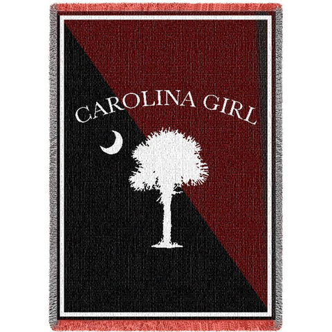 Carolina Girls Garnet Small Blanket