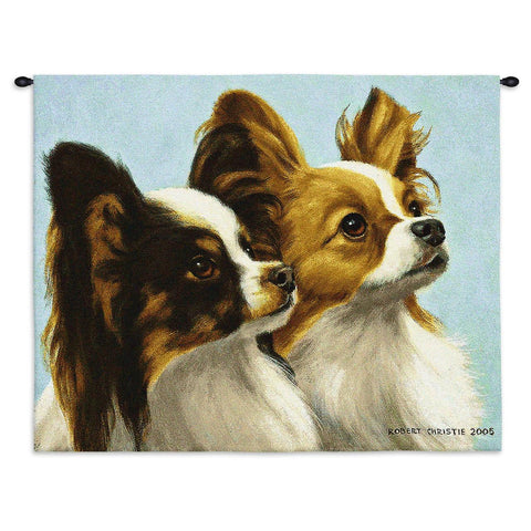 Papillon Wall Tapestry with Rod