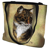 Brown Tabby Bag Tote Bag