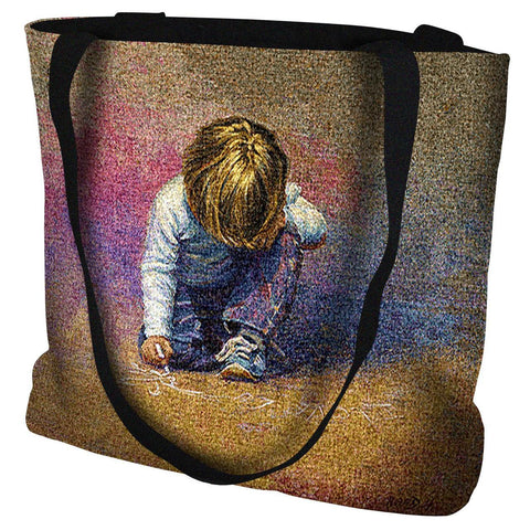 Budding Artist Tote Bag