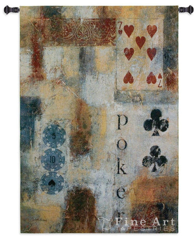 Poker Abstract Wall Tapestry