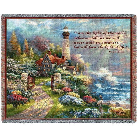 Coastal Splendor with Scripture Blanket