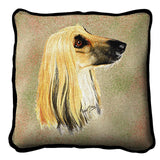Afghan Hound Pillow Cover