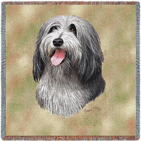 Bearded Collie Small Blanket