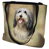 Bearded Collie Tote Bag