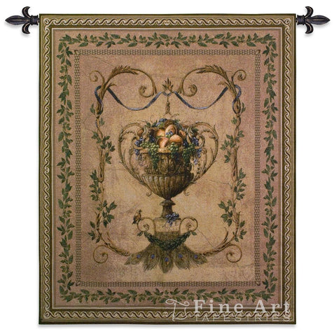 Frutti D'Estate Small Wool and Cotton Wall Tapestry