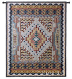 Southwest Turquoise Small Wall Tapestry