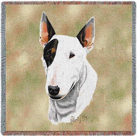 Bull Terrier Small Blanket