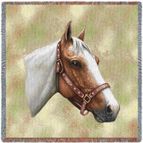 Pinto Horse Small Blanket
