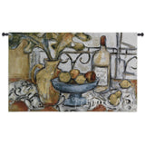 Still Life With Black and White Wall Tapestry