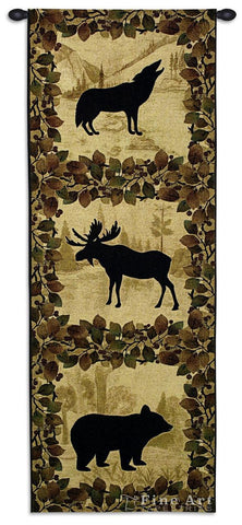 Lodge Silhoutte BE Wall Tapestry