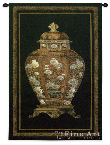 Oriental Jar I Small Wall Tapestry